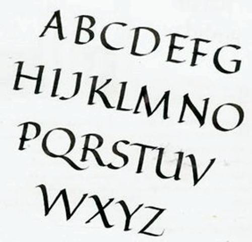 ... Pictures tipos letras para dibujar graffitis goticas taringa pictures