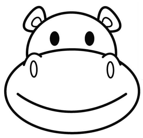 Mascaras de hipopotamos - Imagui